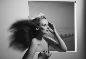 Grace Coddington x Willie Christie, 1974.