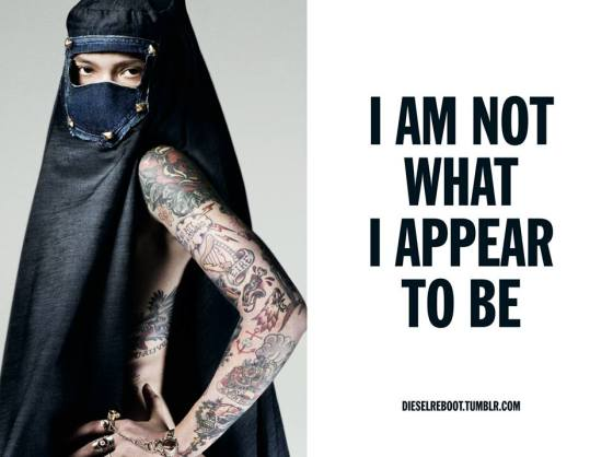I AM NOT WHAT I APPEAR TO BE