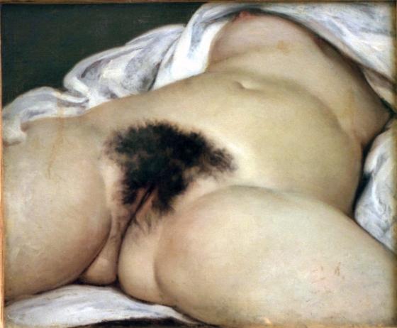 L'origine du monde (1866), Gustave Courbet