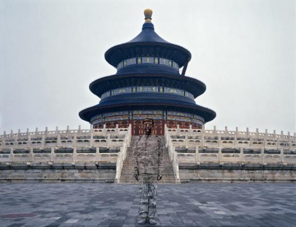 Temple of Heaven (2010), Liu Bolin (Hiding in the City)