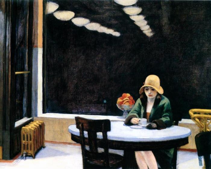 Automat (1927), Edward Hopper