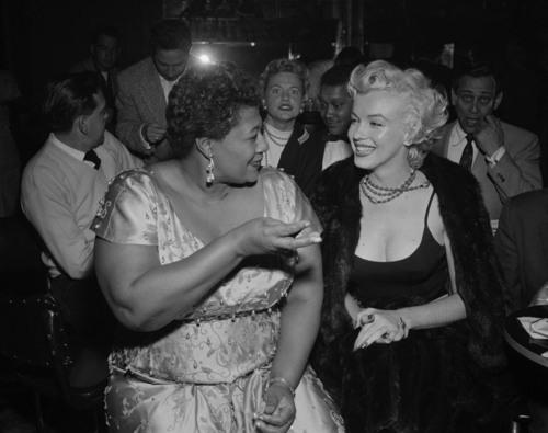 Ella Fitzgerald + Marilyn Monroe