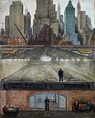 Fondos Congelados (1931-31), Diego Rivera, MoMA